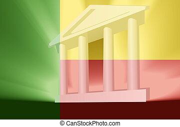 Flag of Benin government