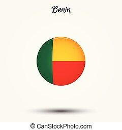 Flag of Benin icon