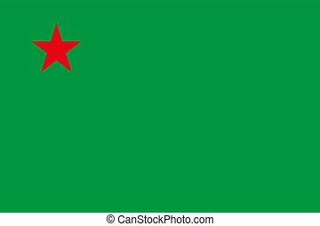Flag of Benin vector illustration EPS10