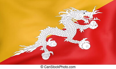 Flag Of Bhutan - Developing the flag of Bhutan