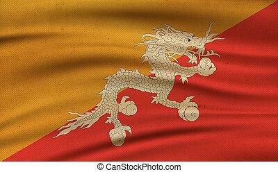 Flag of Bhutan.