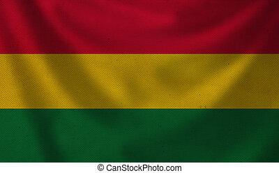 Flag of Bolivia.