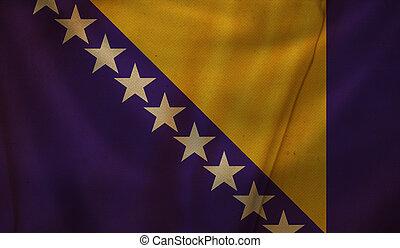 Flag of Bosnia.