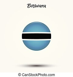 Flag of Botswana icon