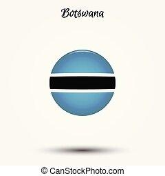 Flag of Botswana icon