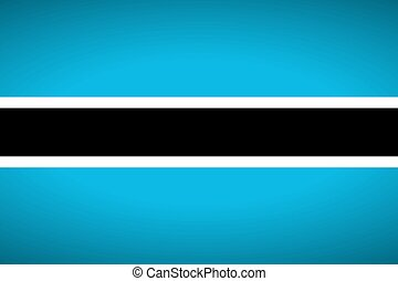 Flag of Botswana.