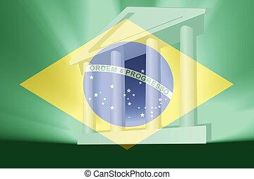 Flag of Brazil government