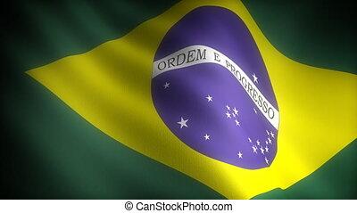 Flag of Brazil (seamless)