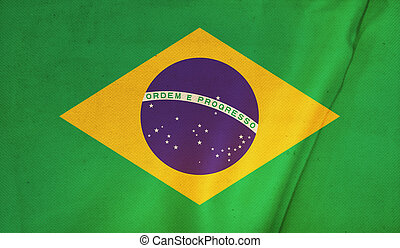 Flag of brazil.