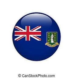 Flag of British Virgin Islands button