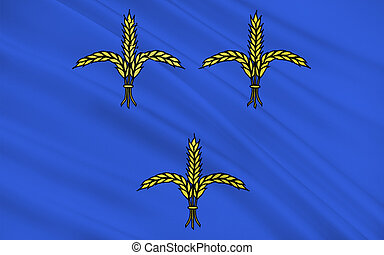 Flag of Brive-la-Gaillarde is a commune of France. It is a sub-prefecture of the Correze department