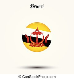 Flag of Brunei icon
