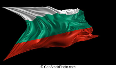 Flag of Bulgaria - Beautiful 3d animation of the Flag of...