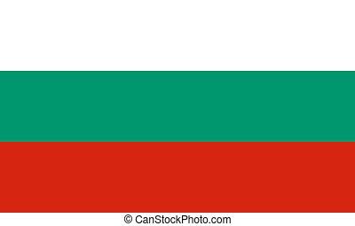 Flag of Bulgaria, vector illustration