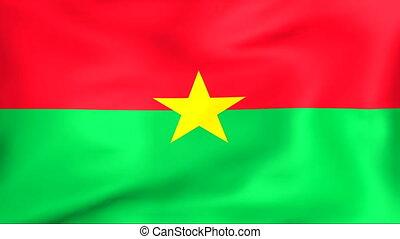 Developing the flag of Burkina Faso