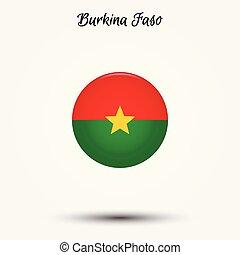 Flag of Burkina Faso icon