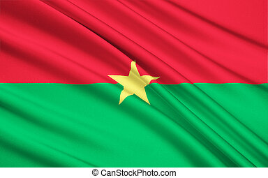 Flag of Burkina Faso, Ouagadougou