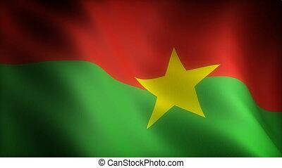 Flag of Burkina Faso (seamless)