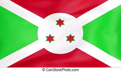 Developing the flag of Burundi