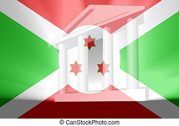 Flag of Burundi government