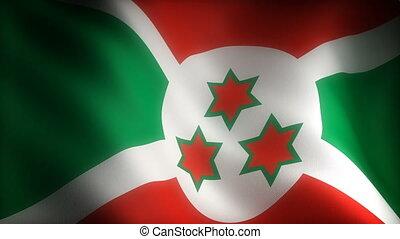 Flag of Burundi (seamless)