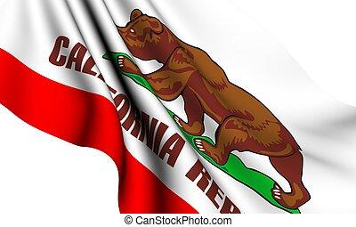 Flag of California, USA
