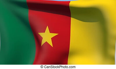 Flag of Cameroon - Flags of the world collection - Cameroon