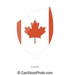 Flag of Canada.