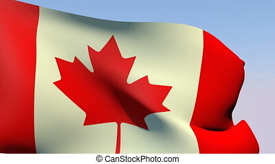 Flag of Canada - Flags of the world collection - Canada