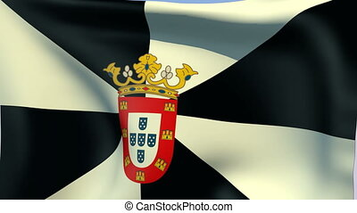 Flag of Ceuta - Flags of the world collection - Ceuta