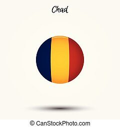 Flag of Chad icon