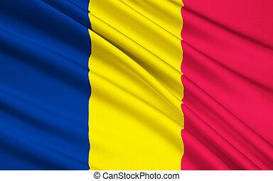 Flag of Chad, N'Djamena