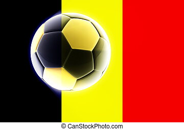 Flag of Chad soccer