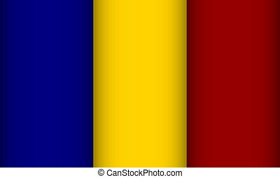 Flag of Chad.