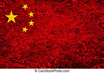 Flag of China.