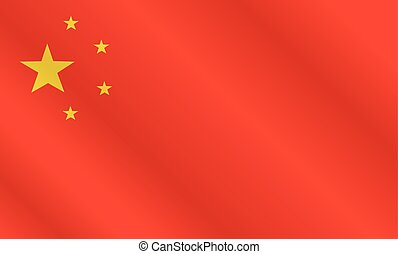 Flag of China.