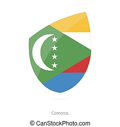 Flag of Comoros.