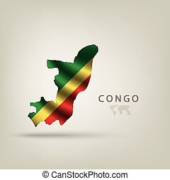 Flag of CONGO as a country