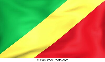 Developing the flag of Congo