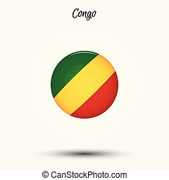 Flag of Congo icon