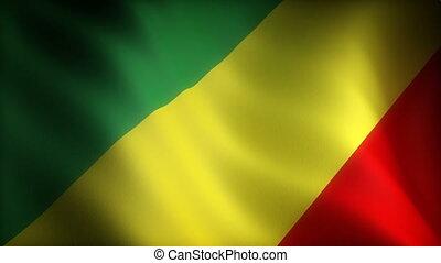Flag of Congo (seamless)