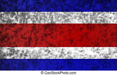Flag of Costa Rica.