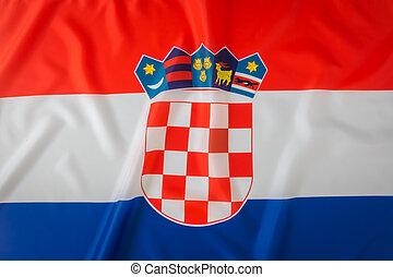 Flag of Croatia .