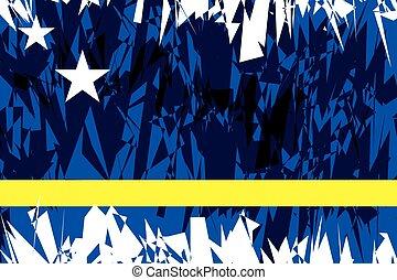 Flag of Curacao.