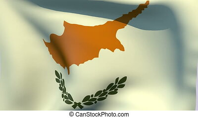 Flag of Cyprus - Flags of the world collection - Cyprus