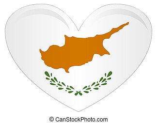 Flag of Cyprus officially the Republic of Cyprus is island country in the Eastern Mediterranean Sea.
