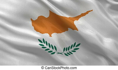 Flag of Cyprus seamless loop