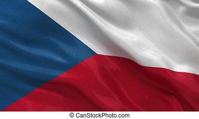 Flag of Czech Republic loop