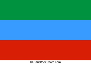 Flag of Dagestan Republic - Official flag of Dagestan ...