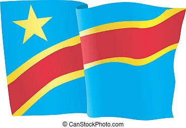 flag of Democratic Republic of the
